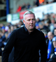 Ipswich Town's manager Paul Lambert <br /> <br /> Photographer Hannah Fountain/CameraSport<br /> <br /> The EFL Sky Bet Championship - Ipswich Town v Birmingham City - Saturday 13th April 2019 - Portman Road - Ipswich<br /> <br /> World Copyright © 2019 CameraSport. All rights reserved. 43 Linden Ave. Countesthorpe. Leicester. England. LE8 5PG - Tel: +44 (0) 116 277 4147 - admin@camerasport.com - www.camerasport.com