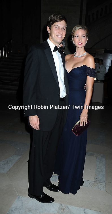 Jared Kushner and wife Ivanka Trump attending The New York Public Library honors the 2010 Library Lions including, Malcolm Gladwell, Ethan Hawke, Paul LeClerc, Steve Martin and Zadie Smith on November 1, 2010 at The New York Public Library on Fifth Avenue and 42nd Street.