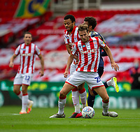 4th July 2020; Bet365 Stadium, Stoke, Staffordshire, England; English Championship Football, Stoke City versus Barnsley; Nick Powell of Stoke City controls the loose ball