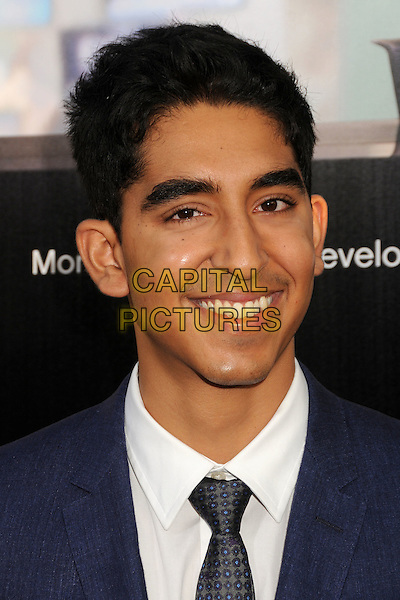 "Dev Patel.HBO's ""The Newsroom"" Los Angeles Premiere held at The Cinerama Dome, Hollywood, California, USA..June 20th, 2012.headshot portrait black tie white shirt blue suit .CAP/ADM/BP.©Byron Purvis/AdMedia/Capital Pictures."