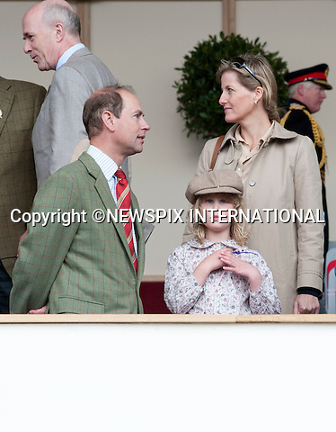 """PRINCE EDWARD, LADY LOUISE WINDSOR and SOPHIE, Countess of Wessex ..The Royal Windsor Horse Show 2011, Windsor_14/05/2011.Mandatory Photo Credit: ©Dias/Newspix International..**ALL FEES PAYABLE TO: """"NEWSPIX INTERNATIONAL""""**..PHOTO CREDIT MANDATORY!!: NEWSPIX INTERNATIONAL(Failure to credit will incur a surcharge of 100% of reproduction fees)..IMMEDIATE CONFIRMATION OF USAGE REQUIRED:.Newspix International, 31 Chinnery Hill, Bishop's Stortford, ENGLAND CM23 3PS.Tel:+441279 324672  ; Fax: +441279656877.Mobile:  0777568 1153.e-mail: info@newspixinternational.co.uk"""