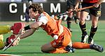 Champions Trophy Hockey mannen finale Nederland-Spanje (2-4). Ronald Brouwer verzuimt te scoren.