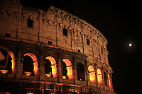 Italy, Rome, November 1, 2011..General view of the Colosseo in Rome November 1, 2011. VIEWpress / Kena Betancur.Rome is the capital of Italy and the country's largest and most populated city and comune, with over 2.7 million residents in 1,285.3 km2 (496.3 sq mi). The city is located in the central-western portion of the Italian Peninsula, on the Tiber River within the Lazio region of Italy.