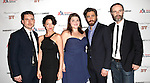 Michael Longhurst, Michelle Gomez, Annie Funke, Jake Gyllenhaal and Brian F. O'Byrne attending the After Party for Opening Night Performance of the Roundabout Theatre Production of  'If There Is I Haven't Found It Yet' at the Laura Pels Theatre in New York City on 9/20/2012.