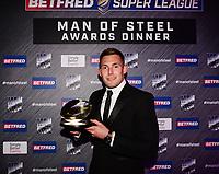 Picture by Simon Wilkinson/SWpix.com - 03/10/2017 - Rugby League BETFRED Super League Man of Steel Awards Dinner 2017 - The Steve Prescott MBE Man of Steel - Greg EDEN
