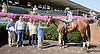 Jolene winning at Delaware Park on 8/13/14