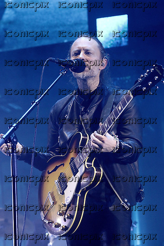 RADIOHEAD - Thom Yorke - performing live at Le Zenith in Paris France - 23 May 2016.  Photo credit: Roberto Gil/Dalle/IconicPix ** UK ONLY **
