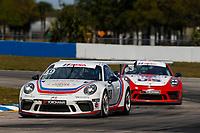 2017 Porsche GT3 Cup USA<br /> Sebring International Raceway, Sebring, FL USA<br /> Friday 17 March 2017<br /> 49, Sebastian Landy, GT3P, USA, 2017 Porsche 991<br /> World Copyright: Jake Galstad/LAT Images<br /> ref: Digital Image lat-galstad-SIR-0317-14856
