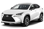 2015 Lexus NX NX 200t F SPORT 5 Door SUV Angular Front stock photos of front three quarter view