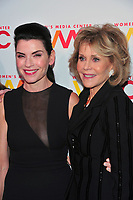 NEW YORK, NY - OCTOBER 26: Julianna Margulies and Jane Fonda at the Women's Media Center 2017 Women's Media Awards at Capitale on October 26, 2017 in New York City. Credit: John Palmer/MediaPunch /NortePhoto.com