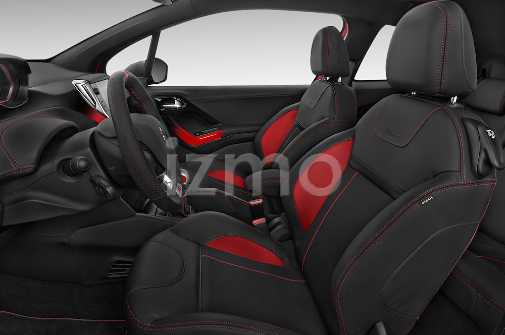 Front seat view of a 2014 Peugeot 208 GTI 3 Door Hatchback 2WD Front Seat car photos