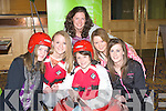 ACTIVE: Learning more about More Active from Niamh Burke (mor Active Group) on Sunday at the Brandon Hotel, Tralee at the KDYS Ypouth Day.l-r: Emma Quirke, Amanda Gentleman (Ballyheigue Youth Club), Amanda Burke (More Active), Yvonne Rice, Rosanne Murphy and Mairead Fitzgerald (Ballyheigue and Causeway)..