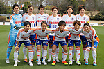 Niigata Albirex Ladies team group line-up (Albirex Ladies), APRIL 15, 2017 - Football / Soccer : Plenus Nadeshiko League Cup 2017 Division 1 match between NTV Beleza 2-0 Niigata Albirex Ladies at Tama City Athletic Stadium in Tokyo, Japan. (Photo by Yusuke Nakanishi/AFLO)