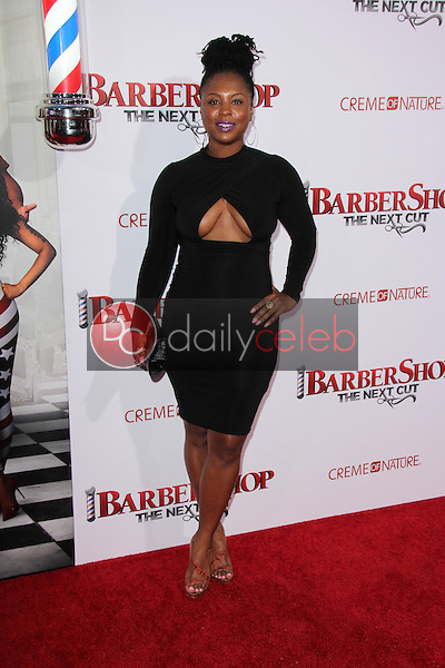 Torrei Hart<br /> at the &quot;Barbershop The Next Cut&quot; Premiere, TCL Chinese Theater, Hollywood, CA 04-06-16<br /> David Edwards/Dailyceleb.com 818-249-4998