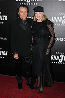 "Ian McShane and Gwen Humble Premiere of ""John Wick: Chapter 3 Parabellum"", held at One Hanson in Brooklyn, New York, USA, 09 May 2019"