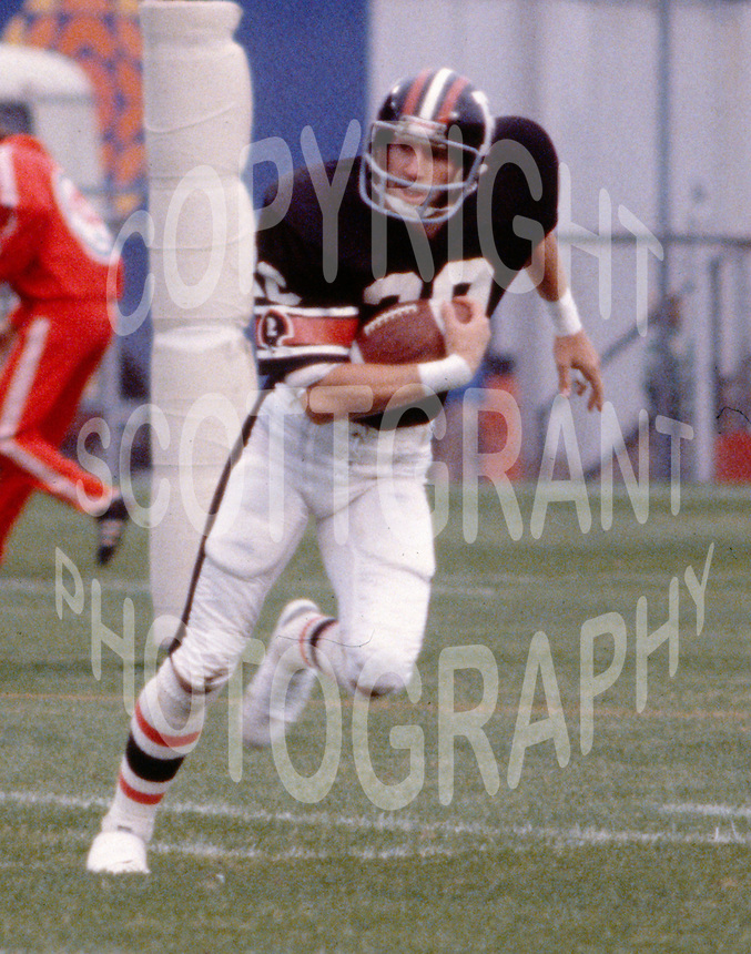Gary Cook Ottawa Rough Riders 1980. Photo F. Scott Grant
