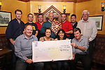 Gleesons Cheque Presentation 29/10/10