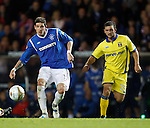 Kyle Lafferty and Gary Fisher