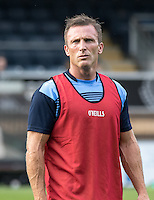 Garry Thompson of Wycombe Wanderers during the Pre-Season Friendly match between Wycombe Wanderers and Queens Park Rangers at Adams Park, High Wycombe, England on the 22nd July 2016. Photo by Liam McAvoy / PRiME Media Images.