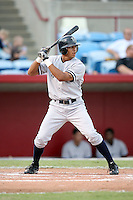 August 13, 2008: Tim Battle (21) of the Tampa Yankees at Ed Smith Stadium in Sarasota, FL. Photo by: Chris Proctor/Four Seam Images