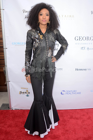 LOS ANGELES, CA - MAY 6: Judith Hill at the 11th Annual George Lopez Foundation Celebrity Golf Classic Pre-Party, Baltaire Restaurant, Los Angeles, California on May 6, 2018. David Edwards/MediaPunch