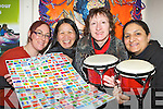 Ita Elezi, Marilyn Catapat-Counihan, Joni Kelly and Hyda Albayati from KASI  who are starting a Storytelling and Music from countries all over the world in the KASI centre in Killarney from Monday next......