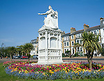 Queen Victoria statue, Clifftown Parade, Southend, Essex