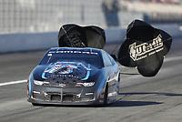 Feb 7, 2020; Pomona, CA, USA; NHRA pro stock driver Bo Butner during qualifying for the Winternationals at Auto Club Raceway at Pomona. Mandatory Credit: Mark J. Rebilas-USA TODAY Sports