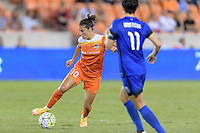 Houston, TX - Sunday Sept. 25, 2016: Carli Lloyd during a regular season National Women's Soccer League (NWSL) match between the Houston Dash and the Seattle Reign FC at BBVA Compass Stadium.