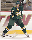 Mark Lutz - The Boston College Eagles completed a shutout sweep of the University of Vermont Catamounts on Saturday, January 21, 2006 by defeating Vermont 3-0 at Conte Forum in Chestnut Hill, MA.