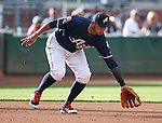 Reno Aces&rsquo; Carlos Rivera makes a play at Greater Nevada Field in Reno, Nev., on Sunday, July 17, 2016.<br />Photo by Cathleen Allison