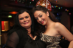Lorraine and Sinead celebrating New Years Eve in Barocco...(Photo credit should read www.newsfile.ie)....This Picture has been sent you under the conditions enclosed by:.Newsfile Ltd..The Studio,.Millmount Abbey,.Drogheda,.Co Meath..Ireland..Tel: +353(0)41-9871240.Fax: +353(0)41-9871260.GSM: +353(0)86-2500958.email: pictures@newsfile.ie.www.newsfile.ie.