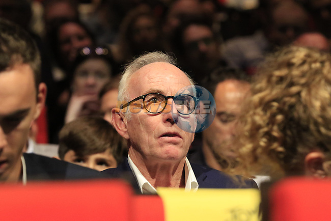Former Tour Champion Joop Zoetemelk (NED) at the Tour de France 2020 route presentation held in the Palais des Congrès de Paris (Porte Maillot), Paris, France. 15th October 2019.<br /> Picture: Eoin Clarke | Cyclefile<br /> <br /> All photos usage must carry mandatory copyright credit (© Cyclefile | Eoin Clarke)