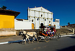 Nicaragua / Granada / Iglesia San Francisco / Horse Carriage