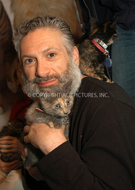 WWW.ACEPIXS.COM . . . . . ....NEW YORK, APRIL 23, 2005....Harvey Fierstein at Barney's Madison Avenue display window for the North Shore Animal League America's ' Celebrities and Pets' promotional event.....Please byline: KRISTIN CALLAHAN - ACE PICTURES.. . . . . . ..Ace Pictures, Inc:  ..Craig Ashby (212) 243-8787..e-mail: picturedesk@acepixs.com..web: http://www.acepixs.com