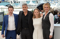 Cannes France May 12 2016 Jack o' Connell, George Clooney Judie FosterJulia Roberts attends Money Monster's photocal at Palais des Festival during the 69th Annual Cannes Film Festival