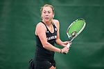 South Carolina Gamecocks women's tennis at the 2018 ITA National Women's Team Indoor Championships in Madison, Wis., on Friday, February 9, 2018. (Photo by David Stluka)