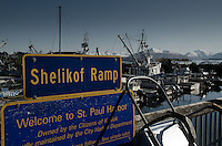 Shelikof Ramp, Kodiak Island, Alaska, US