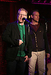 """Anthony Rapp and Adam Pascal preview their new show """"Celebrating 20 Years of Friendship"""" at the Feinsteins/54 Below Press Preview at Feinsteins/54 Below on October 11, 2016 in New York City."""