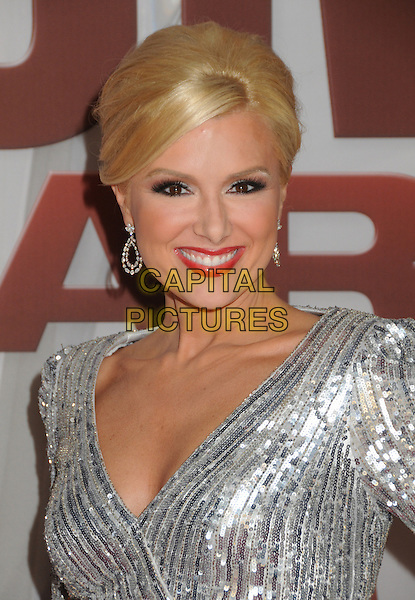 Allison DeMarcus.The 45th Annual CMA Awards, Country Music's Biggest Night, held at Bridgestone Arena, Nashville, Tennessee, USA..November 9th, 2011.headshot portrait silver sequins sequined .CAP/ADM/BP.©Byron Purvis/AdMedia/Capital Pictures.