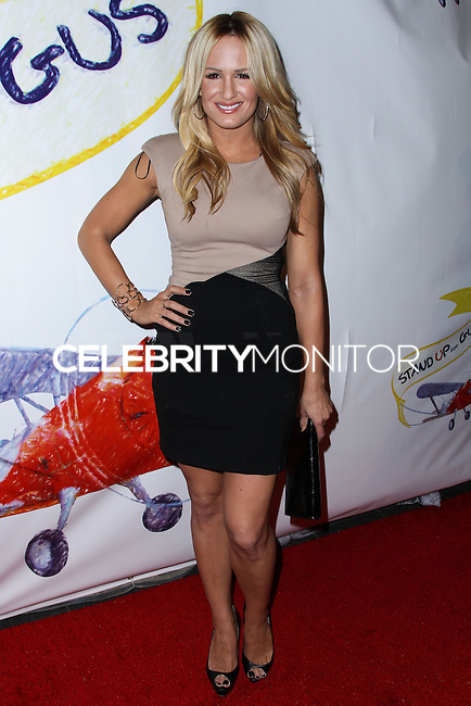"""WEST HOLLYWOOD, CA - NOVEMBER 13: Jenn Brown at the """"Stand Up For Gus"""" Benefit held at Bootsy Bellows on November 13, 2013 in West Hollywood, California. (Photo by Xavier Collin/Celebrity Monitor)"""