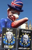 APR 1 Pro & Anti Brexit Demonstrators in Westminster