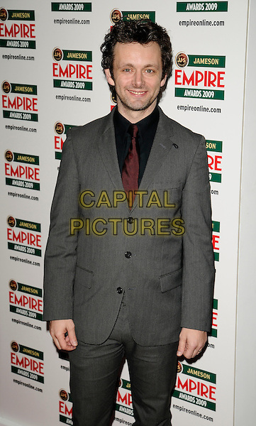 MICHAEL SHEEN.Jameson Empire Film Awards 2009 at the Grosvenor House Hotel, Park Lane, London, England..March 29th 2009 .half length grey gray suit  .CAP/CAN.©Can Nguyen/Capital Pictures.