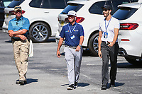 Chez Reavie (USA) makes his way through the parking lot toe the course before round 2 of the 2019 Tour Championship, East Lake Golf Course, Atlanta, Georgia, USA. 8/23/2019.<br /> Picture Ken Murray / Golffile.ie<br /> <br /> All photo usage must carry mandatory copyright credit (© Golffile | Ken Murray)