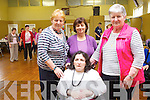 Attending the Positive Ageing Day at Knocknagoshel Community Centre on Friday wereAttending the Positive Ageing Day at Knocknagoshel Community Centre on Friday were: Peg Cahill, Catherine Brosnan, Maureen O'Mahony and Marie Ahern from Knocknagoshel Active retirement.