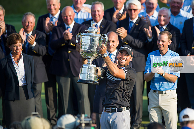 Jason Day (Aust) winner of the 2015 USPGA Championship at Whistling Straits (Photo: Anthony Powter)