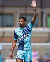 Nathan Tyson on Trial for Wycombe Wanderers during the pre season friendly match between Slough Town and Wycombe Wanderers at Arbour Park Stadium, Slough, England on 8 July 2017. Photo by Andy Rowland.