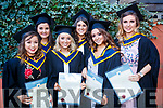 Bronagh McBreen (Cavan), Chelsea Brassil (Clare), Niamh Hayes (Cork), Dyane Shannon (Cork), Amy Walsh (Cork) and Valerie Lynch (Cork), who graduated in General Nursing from IT, Tralee on Friday morning last, at the Brandon Conference Centre, Tralee.