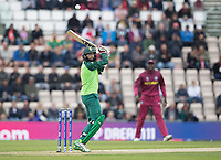 Hashim Amla  (South Africa) nicks and is caught at slip off  Sheldon Cottrell (West Indies) during South Africa vs West Indies, ICC World Cup Cricket at the Hampshire Bowl on 10th June 2019