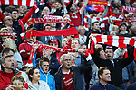 Liverpool fans during the Champions League playoff round at the Anfield Stadium, Liverpool. Picture date 23rd August 2017. Picture credit should read: Lynne Cameron/Sportimage